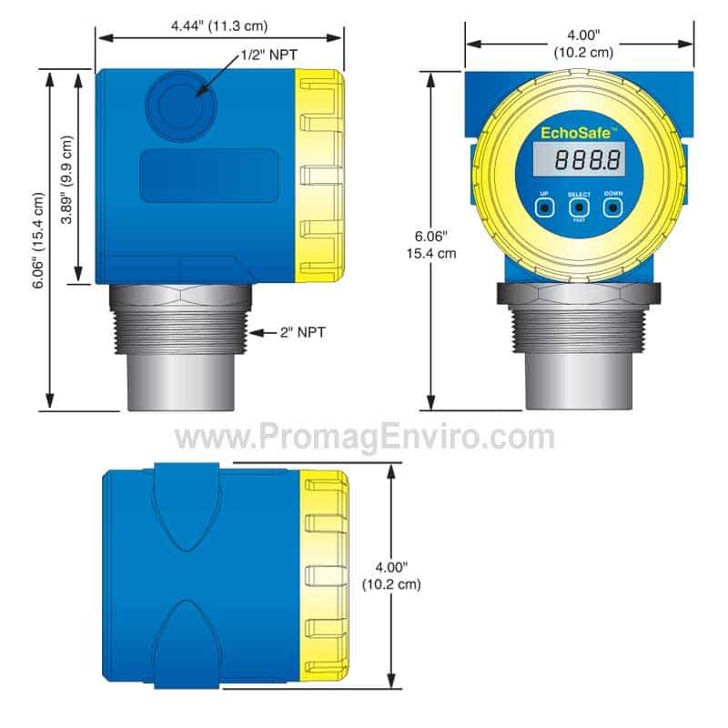 Tank Level Transmitter Flowline XP88/XP89