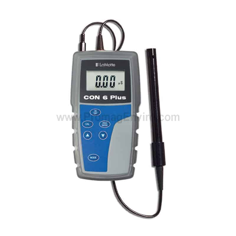 Water Conductivity Measurement : Conductivity meter lamotte